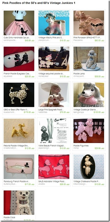 EtsyTreasury-PinkPoodles