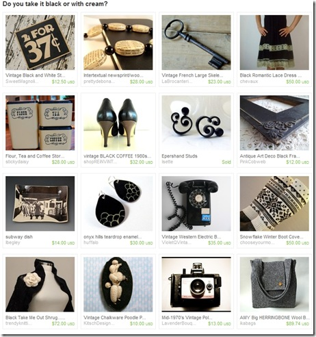 EtsyTreasury-BlackPoodle