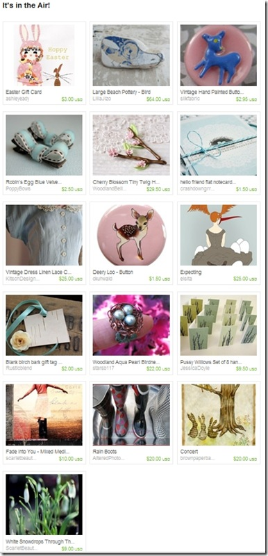 EtsyTreasury-SpringIsInTheAir-BlueLinenDress