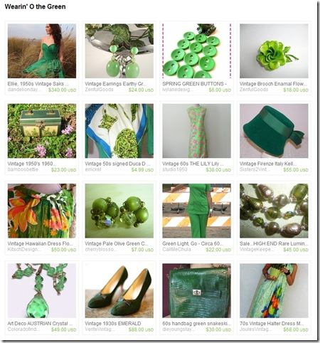 EtsyTreasury-StPattysDay-HawaiianDress