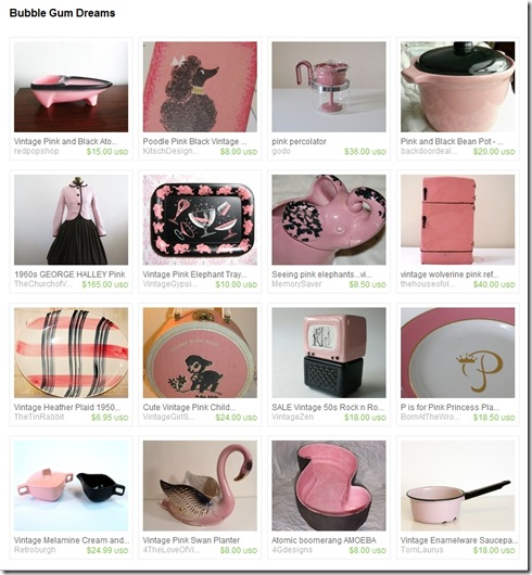 EtsyTreasury-BubblegumDreams-PoodleCards